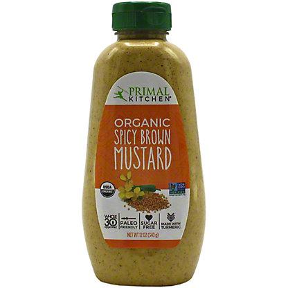 Primal Kitchen Organic Spicy Brown Mustard, 12 OZ