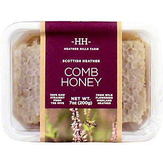 Heather Hills Farm Scottish Heather Comb Honey, 200 g