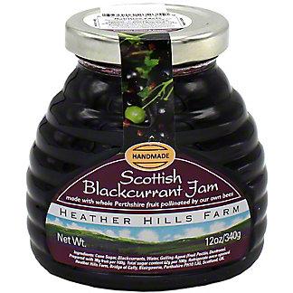 Heather Hills Farms Scottish Blackcurrant Jam, 340 gr