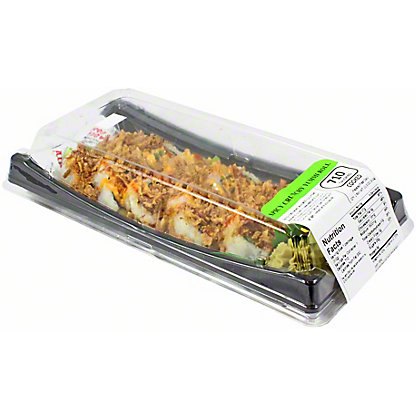 Yummi Sushi Crunchy Shrimp Roll With Black Rice, 10 pc