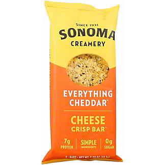 Sonoma Creamery Everything Cheddar Crisps, 2 ct