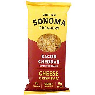 Sonoma Creamery Bacon Cheddar Crisps, 2 pk