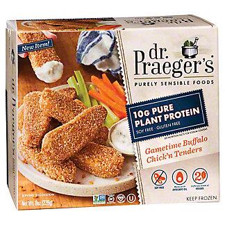 Dr. Praeger's Gametime Buffalo Chick'n Tenders, 8 oz