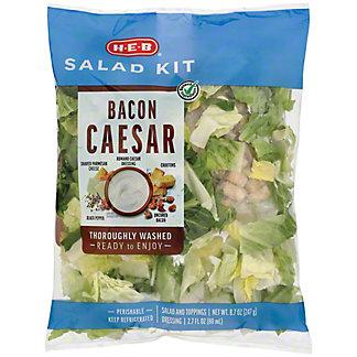 H-E-B Select Ingredients Bacon Caesar Salad Kit, 11.45 oz