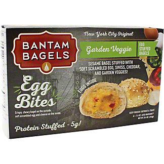 Bantam Bagels Garden Vegetable Egg Bites, 6 ct