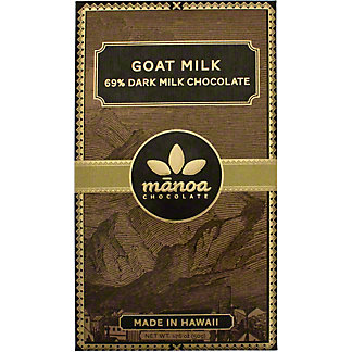 Manoa Goat Milk Dark Chocolate Bar, 50 g