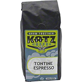 Katz Tontine Espresso Blend, 12 oz