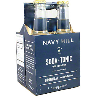 Navy Hill Original Tonic Soda 4 Pack, 4 pk