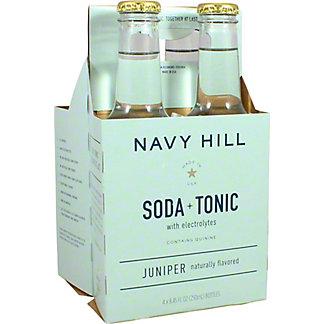 Navy Hill Juniper Tonic Soda, 4 pk