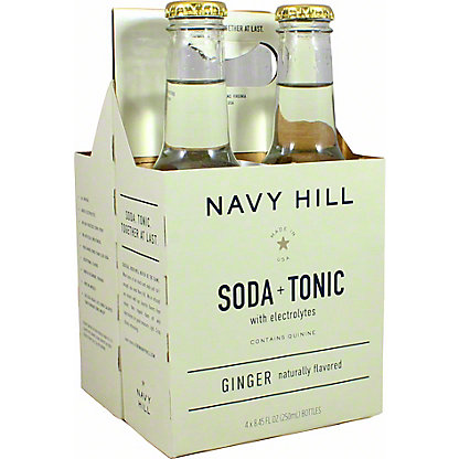 Navy Hill Ginger Tonic Soda, 4 Pk