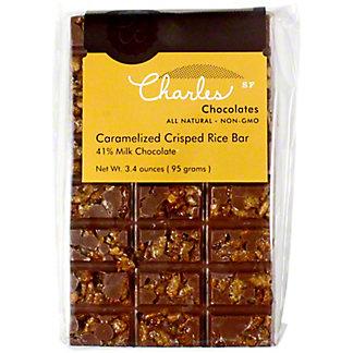 Charles Chocolate Caramelized Crisp Rice Milk, 4.1 OZ