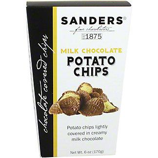 Sanders Milk Chocolate Covered Potato Chips, 6 oz
