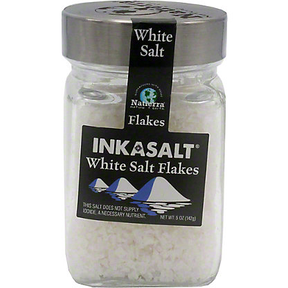 Natierra Salt Flakes White, 5 oz