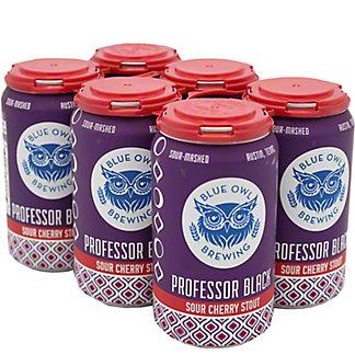 Blue Owl Brewing Professor Black Sour Cherry Stout, Cans, 6 pk, 12 fl oz ea