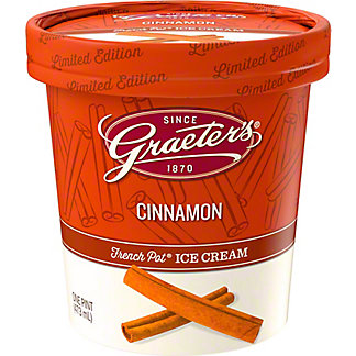 Graeter's Limited Edition CinnamonIce Cream, 1 pt