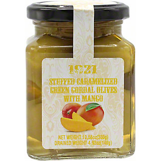 1921 Stuffed Green Queen Olives With Mango, 10.5 OZ