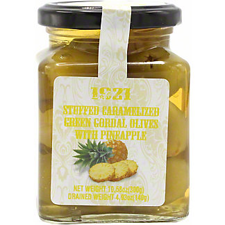 1921 Stuffed Green Queen Olives With Pineapple, 10.5 OZ