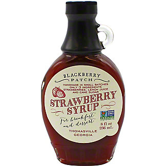 Blackberry Patch Syrup Strawberry, 8 oz