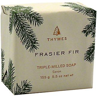 Thymes Frasier Fir Triple Milled Bar Soap, 5.5 oz