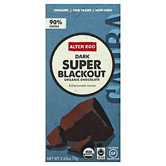Alter Eco Organic Chocolate Bar Super Blackout, 2.65 oz