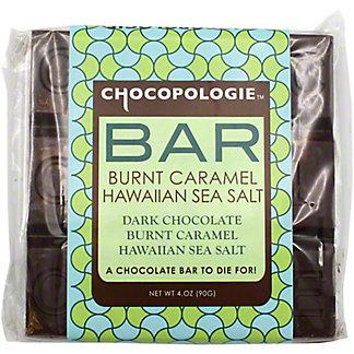 Chocopologie Burnt Caramel Sea Salt Bar, 4 OZ