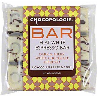 Chocopologie Flat White Espresso Bar, 4 OZ