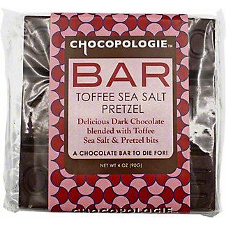 Chocopologie Toffee Sea Salt Pretzel Bar, 4 OZ