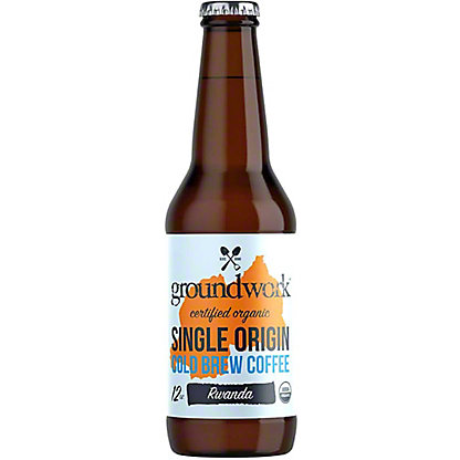 Groundwork Coffee Cold Brew Single Origin Rwanda, 12 oz