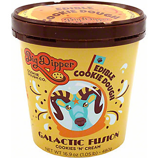 Big Dipper Big Dipper Galactic Fusion Cookies & Cream Dough, 16 oz