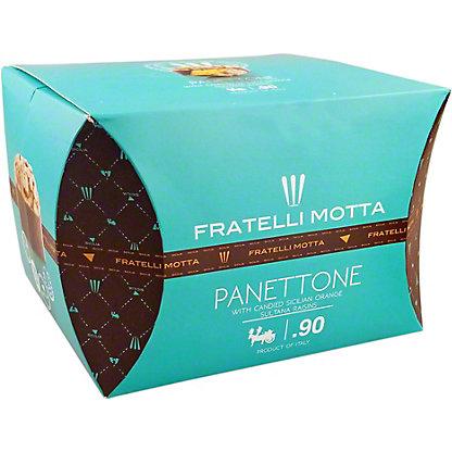 Fratelli Motta PanettoneWith Raisins & Fruit, 1.65 lb