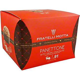 Fratelli Motta Panettone With Chocolate Drops, 1.65 lb