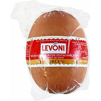 Levoni Mortadella Pistachio, 1.1 LB