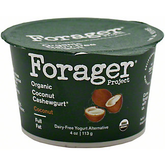 Forager Good Plant Fat Coconut Cashewgurt , 4 OZ