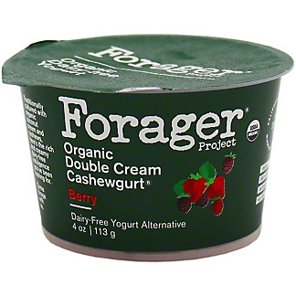 Forager Good Plant Fat Mixed Berry Cashewgurt, 4 OZ