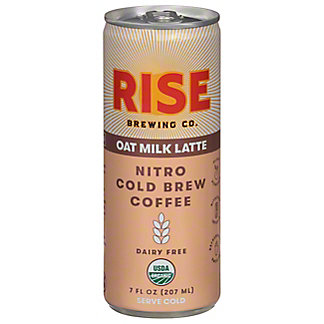 Rise Brewing Co. Oat Milk Nitro Cold Brew Latte, 7 oz