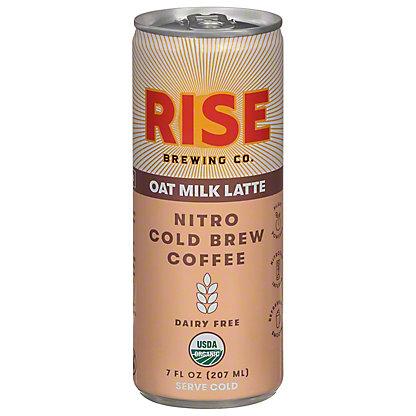 Rise Brewing Co. Oat Milk Nitro Cold Brew Latte, 7 oz