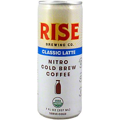 Rise Brewing Co. Classic Nitro Cold Brew Latte, 7 oz