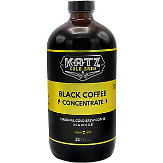 Katz Black Coffee Concentrate, 32 OZ