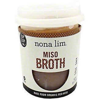 Nona Lim Miso Broth Cup, 10 OZ