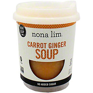 Nona Lim Carrot Ginger Soup Cup, 10 OZ