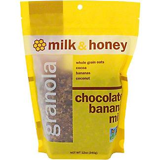 Milk & Honey Chocolate Banana Granola Mix, 12 OZ