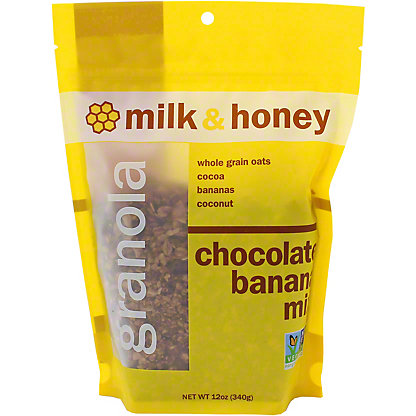 Milk & Honey Chocolate Banana Granola Mix, 12 OZ