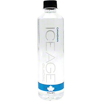 Ice Age Pure Glacial Water , 16.9 oz