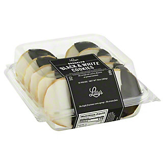 Lilly's Homestyle Bakeshop Black and White Cookies, 10 ct