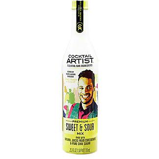 Cocktail Artist Sweet & Sour Mix, 25.3 oz