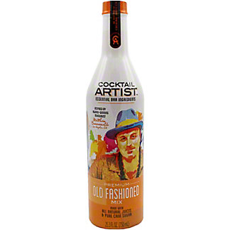 Cocktail Artist Old Fashioned Mix, 25.3 oz