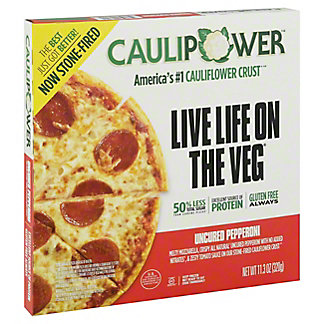 Caulipower All Natural Uncured Pepperoni Cauliflower Pizza, 12 oz