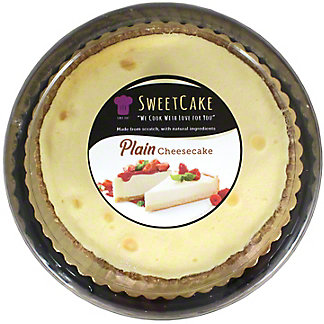Sweetcake Plain Cheesecake, 9 IN