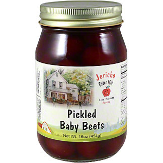 Jericho Cider Mill Pickled Baby Beets, 16 OZ