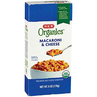 H-E-B Organics Macaroni & Cheese, 6 oz